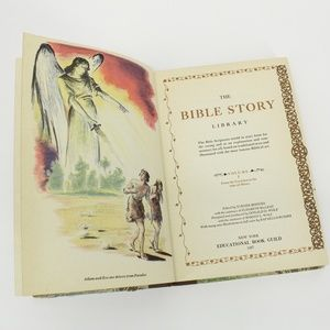 Vintage 1957 The Bible Story Library Book